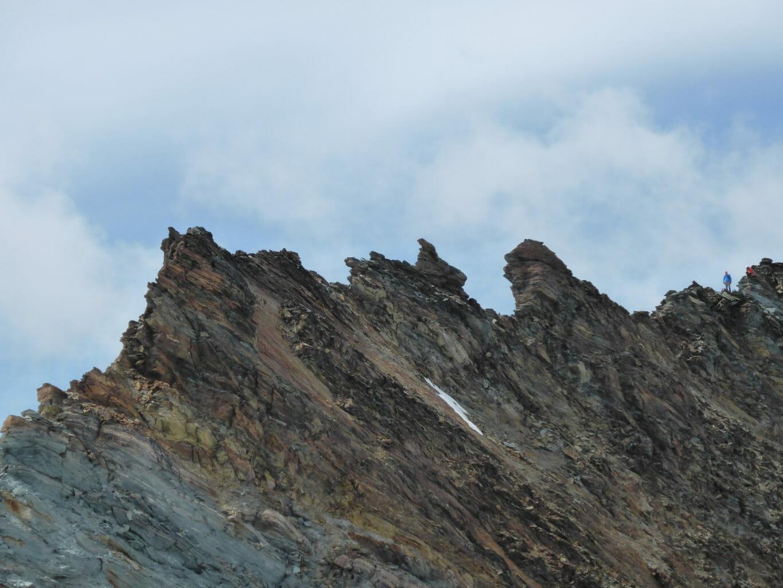 Abstieg über den Feekopf.