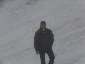 Längstes Schneefeld