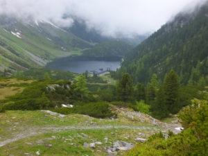Ins Tal Richtung Grünsee