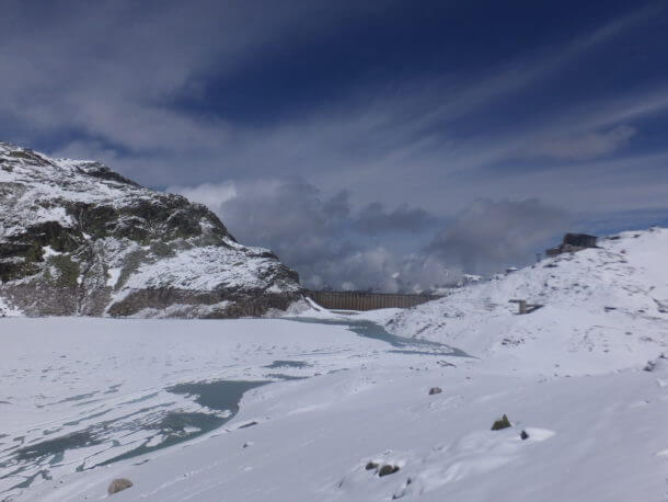 Verschneiter Weisssee