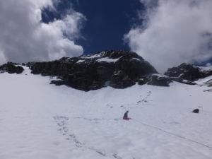 Anna im Schnee