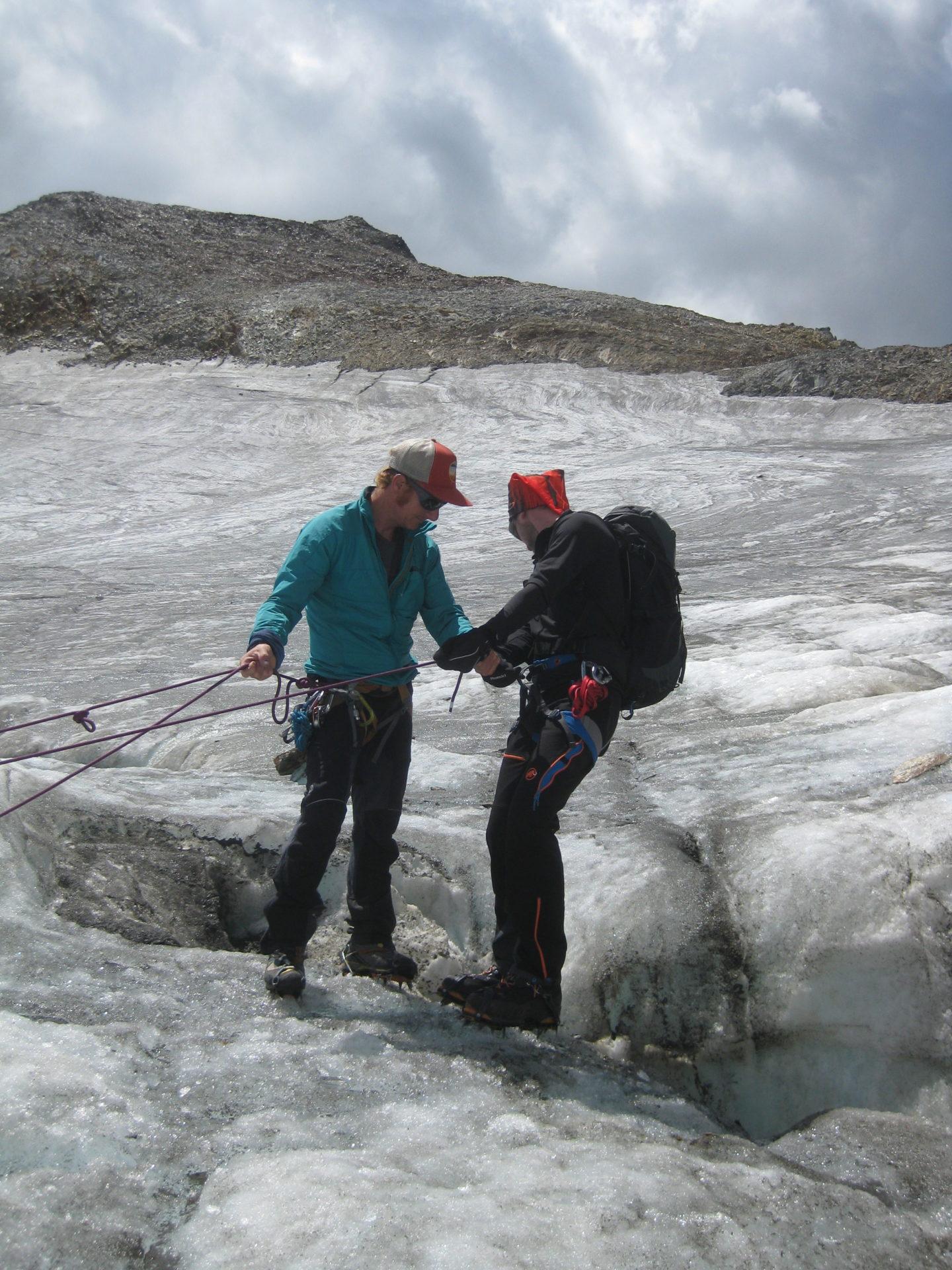 Gletschermühle