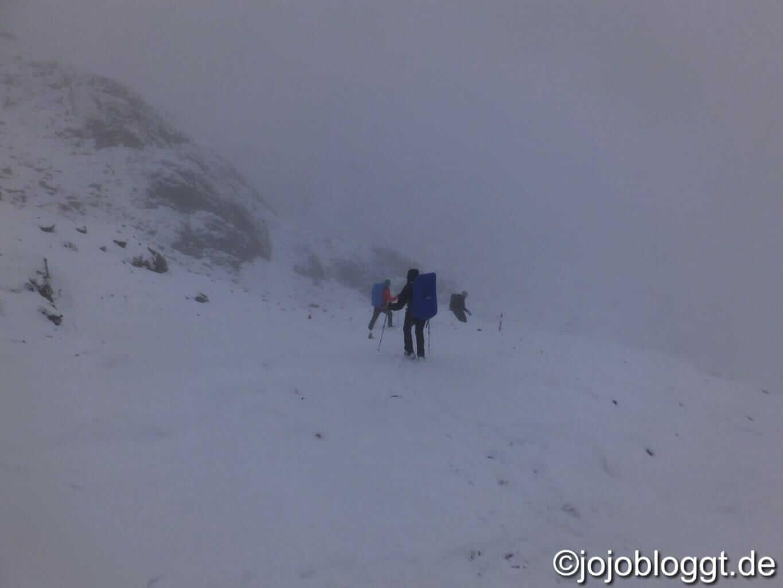 Abstieg von der Similaunhütte